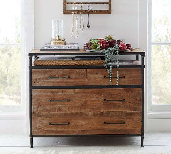 Juno Reclaimed Wood Dresser | Pottery Barn