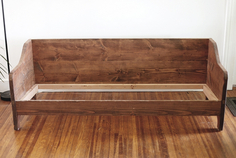 DIY Wood Sofa - The Merrythought