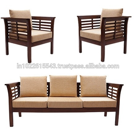 Solid Wood Sofa Set - Buy Solid Wood Sofa Set,Fabric Designs Idea