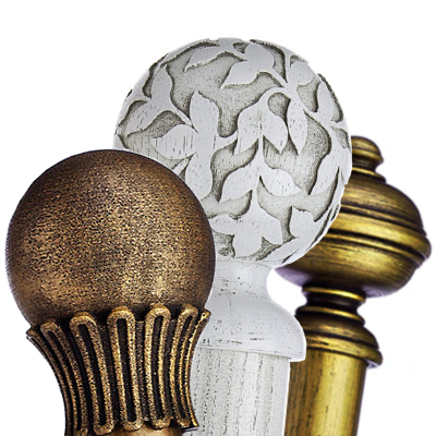 Wooden Curtain Poles | Poles Direct