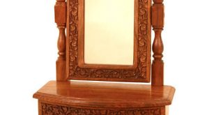 Brown Standard Wooden Dressing Table, Rs 4500 /piece, Asian Art