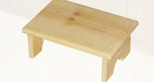 Amazon.com: Small Wood Step Stool Made in USA: Kitchen & Dining