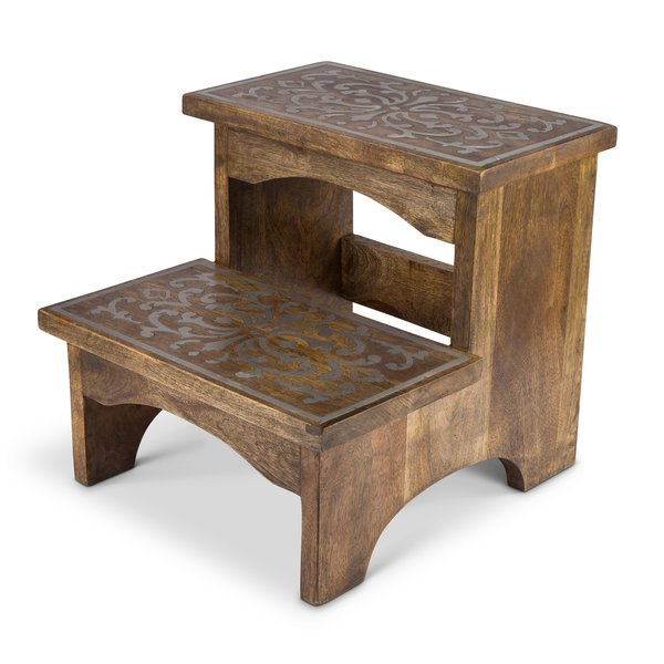 TGGC 2-Step Wood Step Stool & Reviews | Wayfair