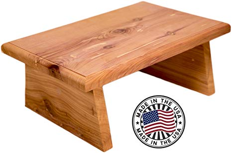 Amazon.com: New Strong Wooden Small Wood Step Stool Made in USA