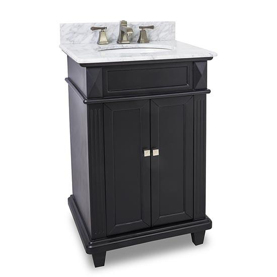 Hardware resources Douglas (single) 24-Inch Transitional Bathroom .
