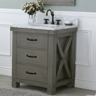 $850 Farmhouse & Rustic Vanities | Birch Lane 30 inch $849 with .