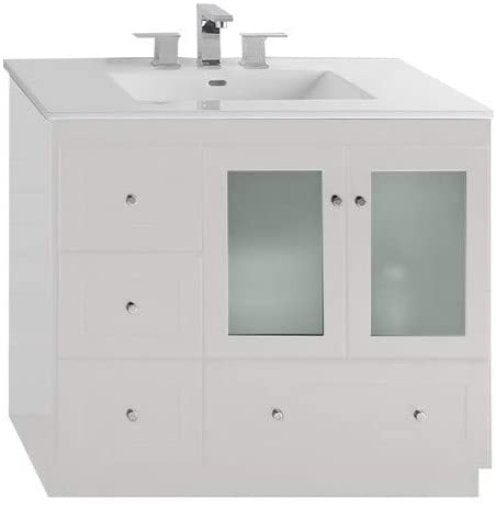 Amazon.com: RONBOW Essentials Shaker 36 Inch Bathroom Vanity .