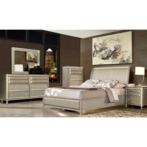 Glam 7-Piece Bedroom Group - Rent to Own Bedroom | Bedroom sets .
