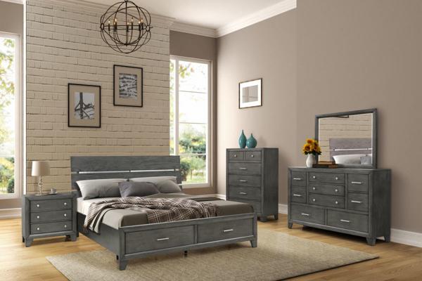 Kingston 7-Piece Queen Storage Bedroom S