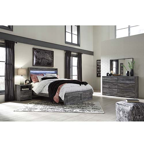 Rent to Own Ashley Baystorm 7-piece Queen Bedroom S