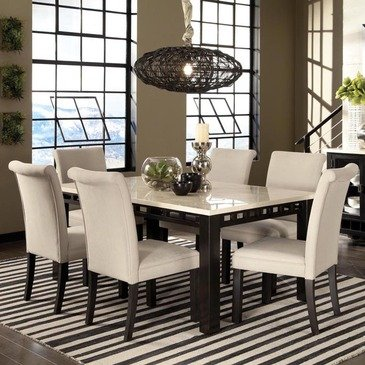 Where to buy Standard Furniture Gateway White 7 Piece Dining Room .