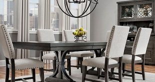 Halloway 7-pc. Dining Set | Dining sets modern, Dining room .