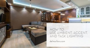 Different Types of Lighting and How to Use Them | DelMarFans.c