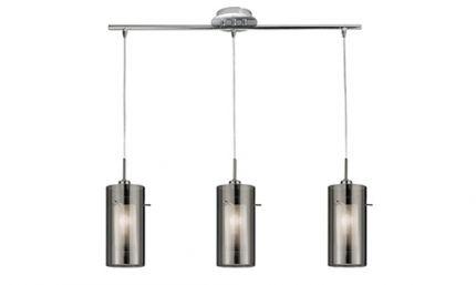 Smoke 3 light Bar pendant (With images) | Bar lighting, Living .