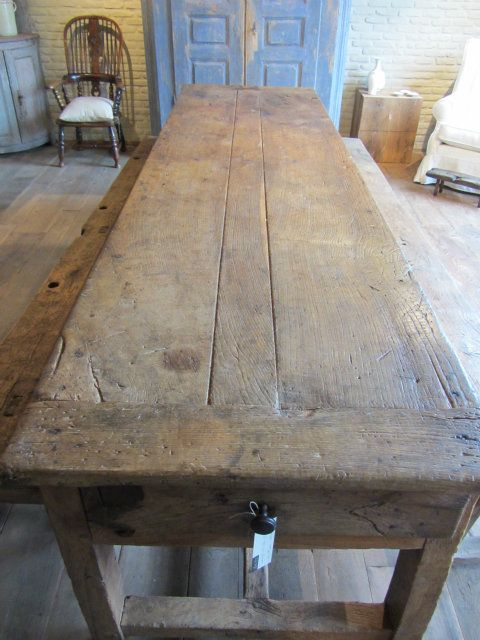 Antiek Amber | Rustic farmhouse table, Rustic farmhouse kitchen .