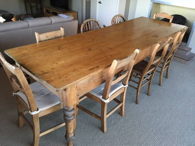 Image result for old farmhouse table Australia gumtree | Farm .