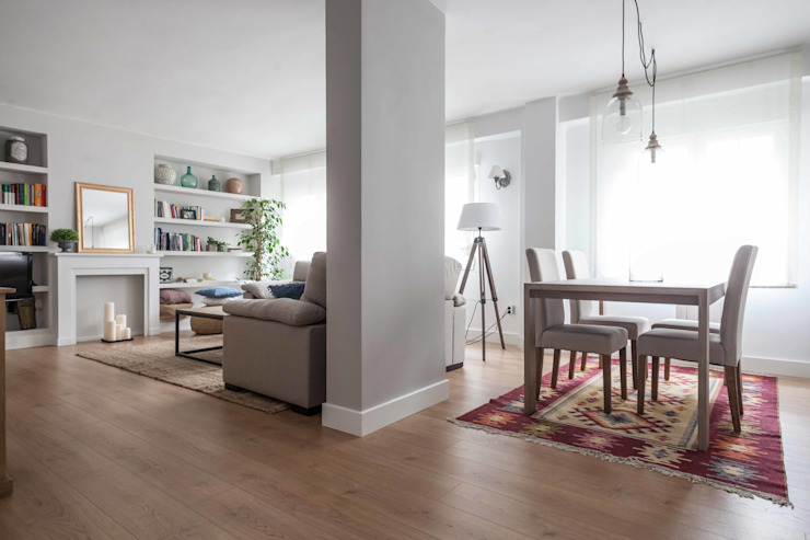 Why adding a rug under dining table sets is a MUST | homi