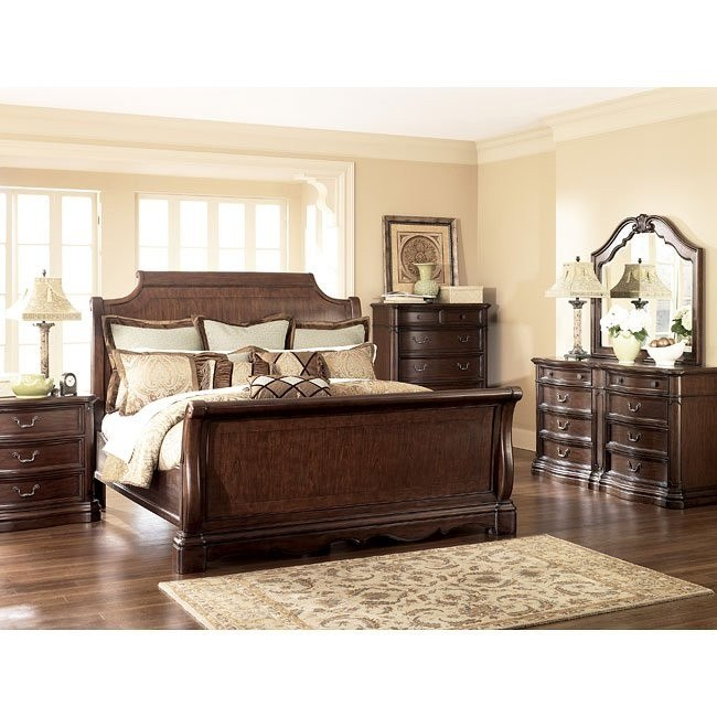 Camilla Sleigh Bedroom Set Signature Design by Ashley Furniture .