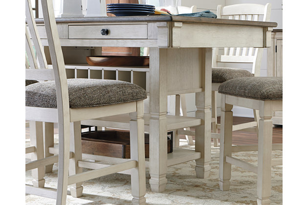Bolanburg Counter Height Dining Table | Ashley Furniture HomeSto