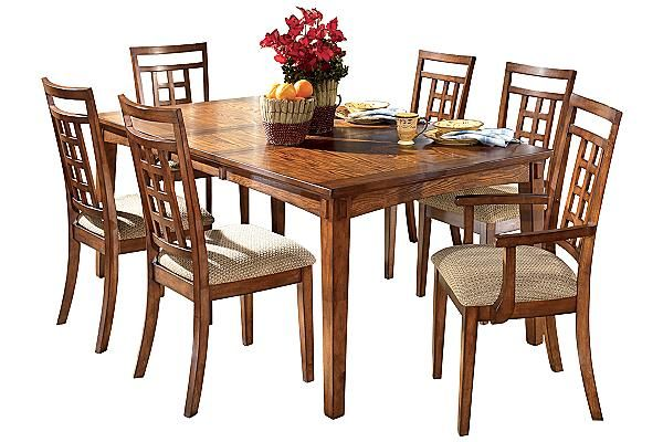 Ashley Furniture | Oak dining sets, Extension dining table, Ashley .