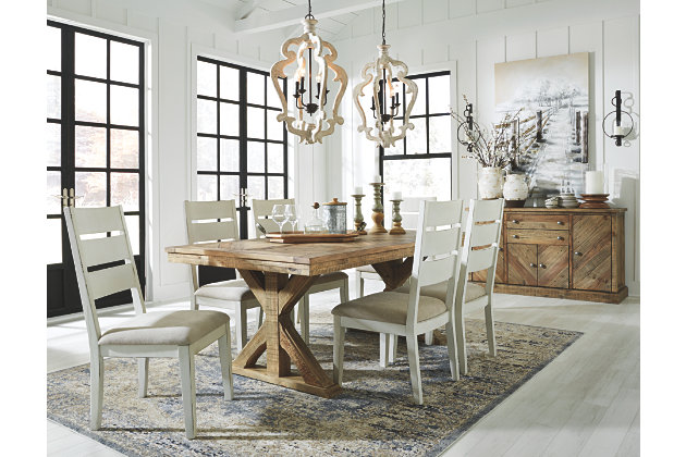 Grindleburg Dining Table | Ashley Furniture HomeSto