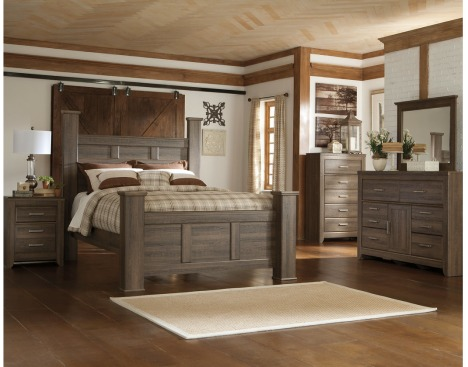Juararo Bedroom Set (Queen) by Ashley Furniture | Davis Furnitu