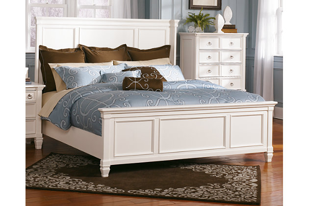 Prentice Queen Panel Bed | Ashley Furniture HomeSto