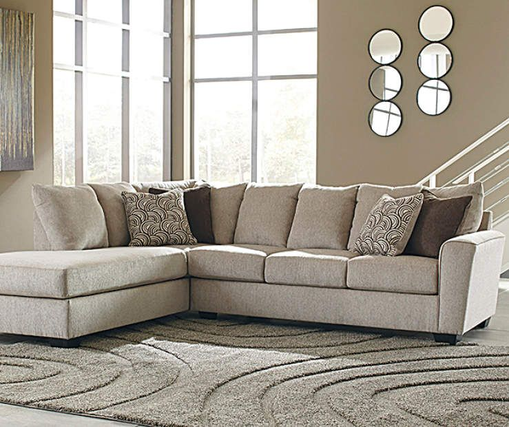 Signature Design by Ashley Ellabury Living Room Sectional - Big .