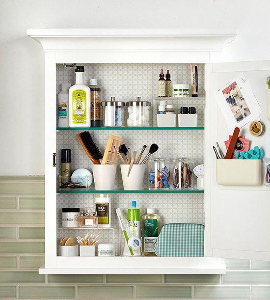 Organize Your Medicine Cabinet | Bathroom cabinet organization .