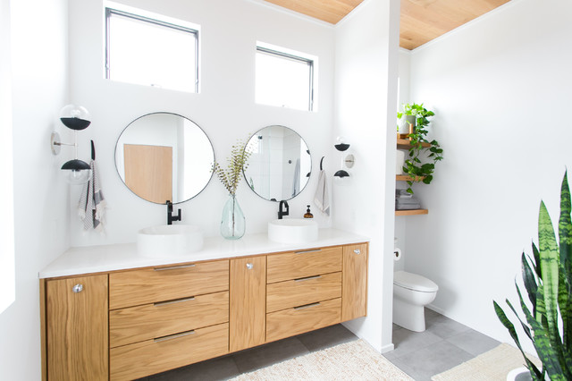 The Right Height for Your Bathroom Sinks, Mirrors and Mo