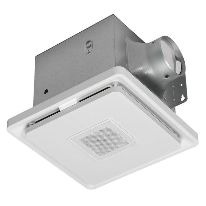 Home NetWerks 1.5-Sone 110-CFM White Bathroom Fan in the Bathroom .