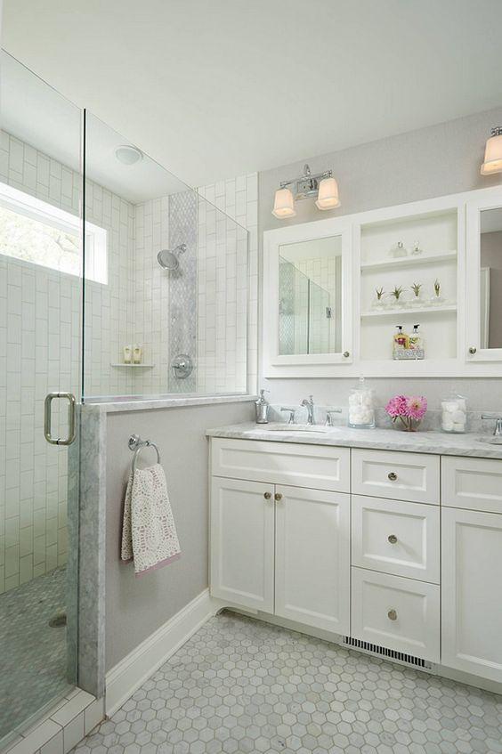 50 Cool Bathroom Floor Tiles Ideas You Should Try - DigsDi