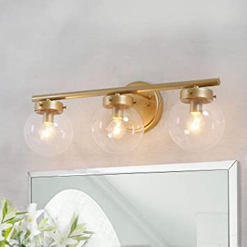 KSANA Bathroom Light Fixtures, Bathroom Vanity Light Fixtures with .