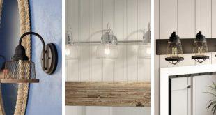 Best Nautical Bathroom Lighting and Beach Bathroom Lighting 2020 .