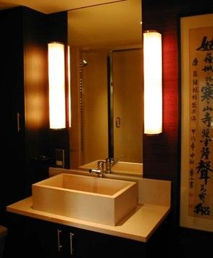 Chinese Themed Bathroom - let there be light.... | Bathroom .