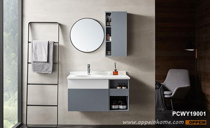 Modern Melamine Bathroom Mirror Cabinet PCWY19001- OPPEIN | The .