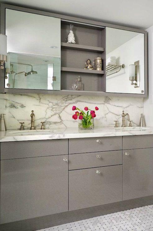 Gray Bathroom - Contemporary - bathroom - Buchman Photo | Bathroom .