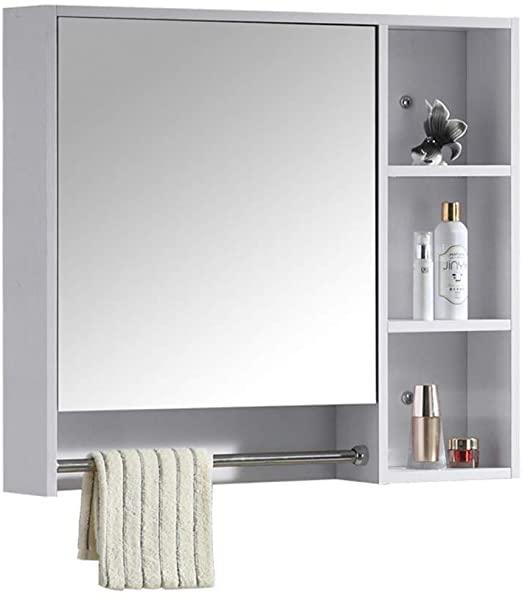 Amazon.com: Bathroom Mirror Cabinet Mirror Box Wall Bathroom .