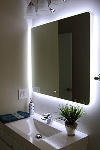 Robot Check   Led mirror bathroom, Mirror wall bathroom .
