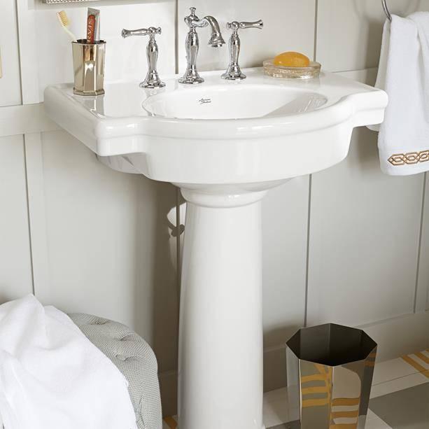 Retrospect 27-inch Pedestal Sink - American Standa