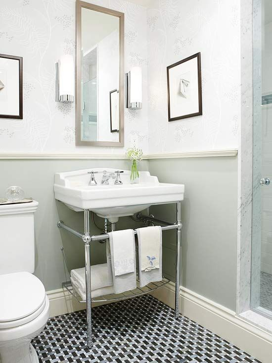 Brilliant Tips for Making Your Small Bathroom Feel Larger | Small .