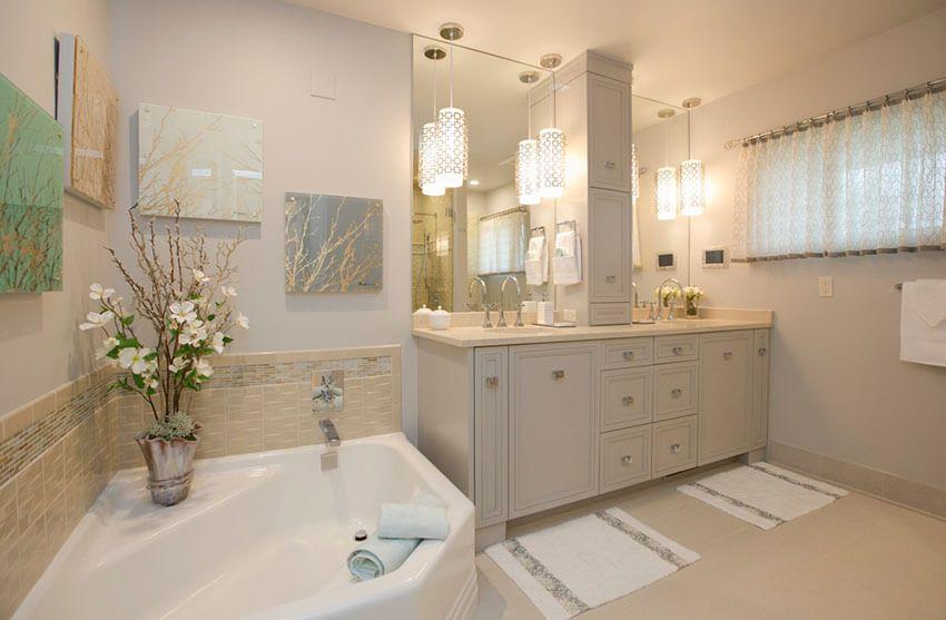 21+ Bathroom Pendant Lighting Design Ideas - | Bathroom pendant .