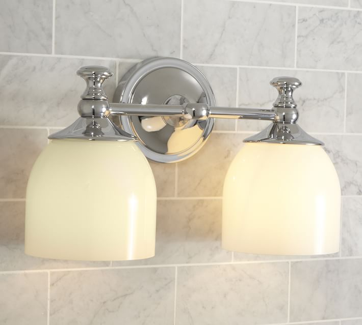 Mercer Double Sconce | Pottery Ba