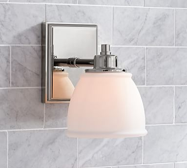 Hayden Traditional Sconce S/2 Chrome | Bathroom sconces, Sconces .