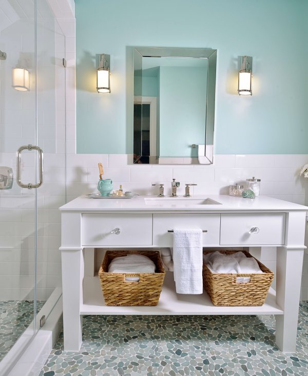 Bathroom Sconces: Where Should They Go? — DESIGN