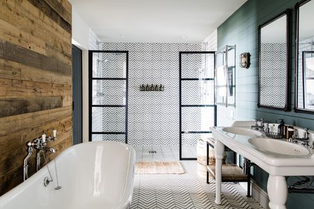 15 Stunning Shower Tile Ide