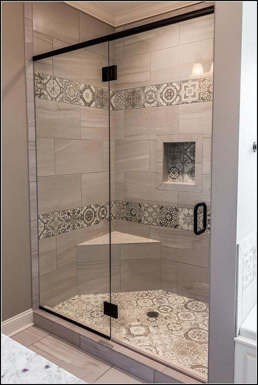 110+ of our favorite shower tile ideas 31 ~ myhomeku.com in 2020 .