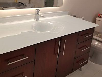 Integrated Glass Sinks   Colored Glass   CBD Gla