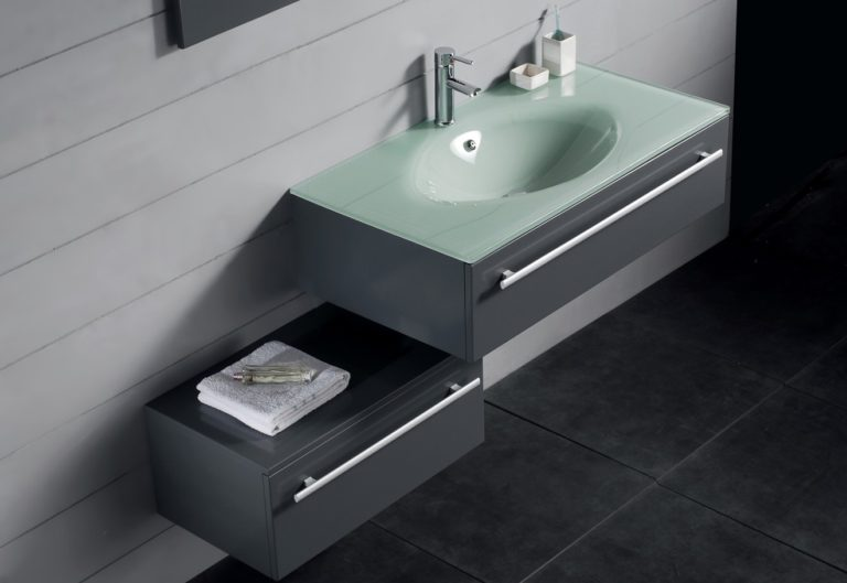 Idea for Bathroom Vanity With Sink — Office PDX Kitch
