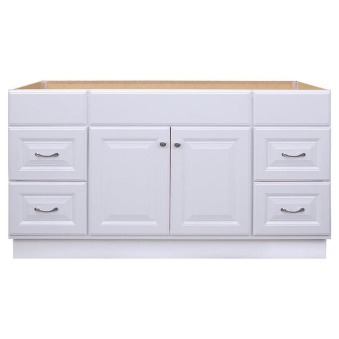 Project Source 60-in White Bathroom Vanity Cabinet in the Bathroom .